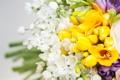 Картинка бутоны, bouquet, листья, leaves, букет, buds, flowers