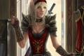 Картинка девушка, одежда, арт, эльфийка, wow, world of warcraft