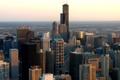 Картинка USA, здания, чикаго, высотки, Chicago, illinois, небо