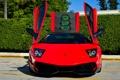 Картинка машина, Lamborghini, суперкар, красная, Murcielago, LP670-4 SV