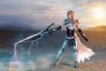 Картинка lightning, model, Lyz Brickley, killgore