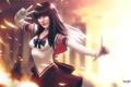 Картинка девушка, магия, sailor mars