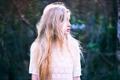 Картинка девушка, блондинка, профиль, боке