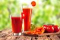 Картинка стакан, сок, juice, помидоры, морковь, томатный, tomato