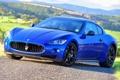 Картинка фары, Maserati, мазерати, передок, грантуризмо, GranTurismo S