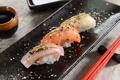 Картинка суши, sushi, spices, специи, роллы, fish, rolls