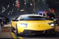 Картинка Lamborghini, need for speed, Автомобиль, копы, hot pursuit, заслон