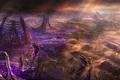 Картинка zerg, starcraft 2, skulls, living buildings