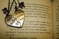 Картинка обои, медальон, книга, love, разное, the, with