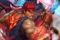 Картинка арт, боец, аркада, Super Street Fighter