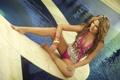 Картинка купальник, бассейн, Melissa Giraldo