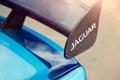Картинка авто, Concept, Jaguar, спойлер, blue, Project 7