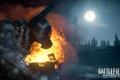 Картинка лес, ночь, Battlefield 3, premium, armored kill, инженер рф