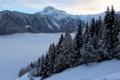 Картинка снег, пейзаж, горы