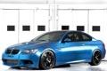 Картинка синий, бмв, BMW, Coupe, blue, E92, IND