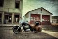 Картинка мотоцикл, улица, байк, легенда, стиль, Indian Chief