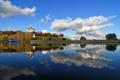 Картинка Успенский собор, река, Ярославль, храм