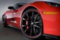 Картинка тюнинг, колесо, Z06, Chevrolet Corvette, корвет