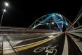Картинка город, мост, ночь
