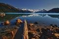 Картинка горы, озеро, DecayRate