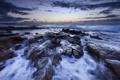 Картинка Bellambi, Wollongong, Australian Coast, Seascape, Rocks, Ocean, Cascade