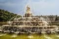 Картинка город, фонтан, Бавария, Bayern - Latonabrunnen Chiemse