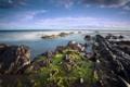 Картинка море, небо, камни, океан, пейзажи