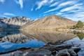 Картинка пейзаж, горы, Convict Lake, California