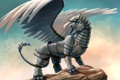 Картинка орел, крылья, грифон, химера