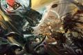 Картинка оружие, дракон, войны, арт, монстры, битва