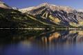 Картинка вода, деревья, горы, природа, озеро, гладь, фото