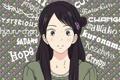 Картинка девушка, слова, заколка, kimi ni todoke, дотянуться до тебя, Kuronuma Sawako