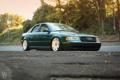 Картинка Audi, green, ауди, перед, зеленая, stance