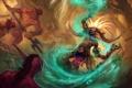 Картинка магия, меч, маска, монстры, посох, diablo 3, шаман