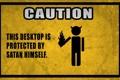 Картинка желтый, черный, caution, внимание