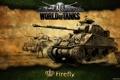 Картинка танк, Великобритания, танки, WoT, мир танков, World of Tanks, Firefly