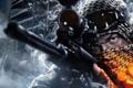 Картинка взгляд, оптика, снайпер, винтовка, battlefield 3