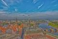 Картинка мост, река, дома, Германия, Дрезден, Эльба