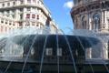 Картинка брызги, Италия, фонтан, Генуя, площадь Феррари