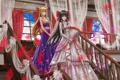 Картинка девушки, рога, touhou, hakurei reimu, zhouran, аниме, розы