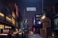 Картинка машины, улица, Девушка, вечер, vocaloid, вокалоид, мобильник