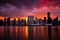 Картинка Sunset, Manhattan, New York City