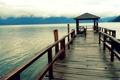 Картинка пейзаж, горизонт, фото, водоем, обои, пирс, природа