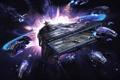 Картинка X Rebirth, космос, фантастика, вселенная, симулятор, арт, корабли