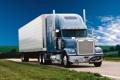 Картинка небо, трава, грузовик, Classic, передок, track, тягач