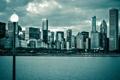 Картинка city, здания, дома, небоскребы, USA, америка, чикаго