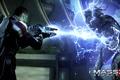 """Картинка Шепард, Mass Effect 3, Shepard, Жнец, Банши, дробовик """"Ригар"""""""