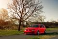 Картинка красный, volkswagen, red, гольф, golf, фольксваген, MK4