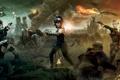 Картинка фантастика, бой, битва, сражение, Запрещенный прием, Sucker Punch, Ванесса Энн Хадженс