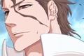 Картинка лицо, парень, Bleach, anime, art, aizen sousuke, Shinigami